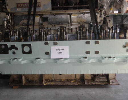 YANMAR S185 used bedplate (serration type)